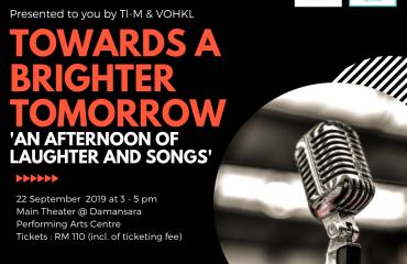 'Towards A Brighter Tomorrow' Concert