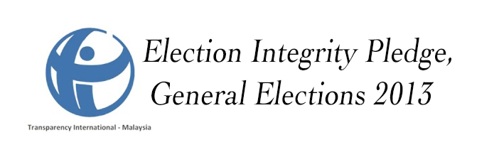 Launch of Election Integrity Pledge for the 13th General Election