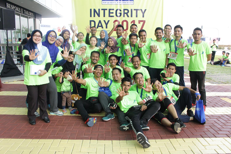 Integrity Run @ Top Glove Setia Alam