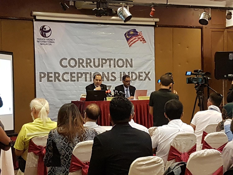 Corruption Perception Index (CPI) 2017