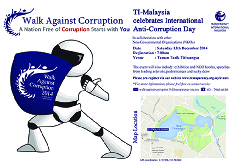 TI-M's Walk Against Corruption 2014