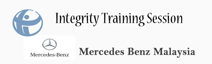 Integrity Training Session with Mercedes-Benz Malaysia