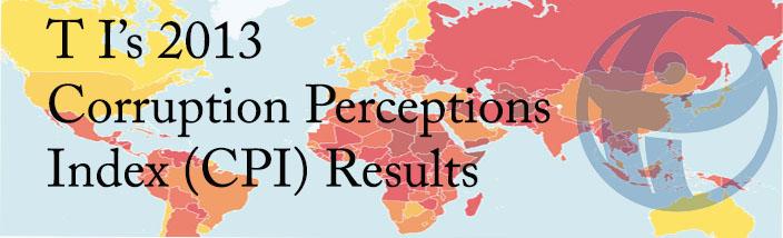 TI's 2013 Corruption Perceptions Index (CPI) Results