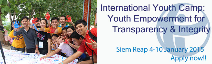 TI's International Youth Camp: Youth Empowerment for Transparency and Integrity (YETI)