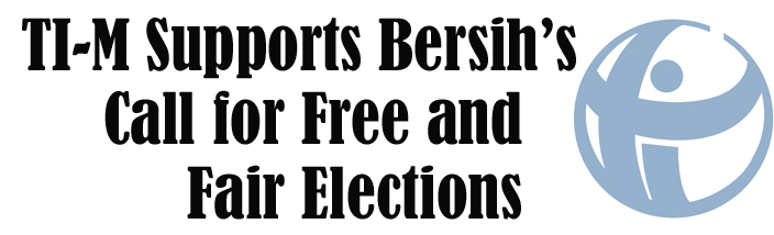 Support for Bersih 2.0 Call for Clean, Free and Fair Elections