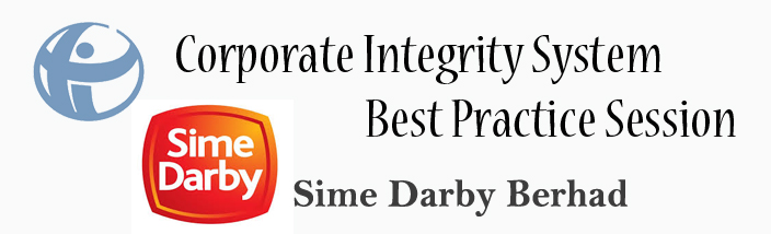 Corporate Integrity System Best Practice Session at Sime Darby