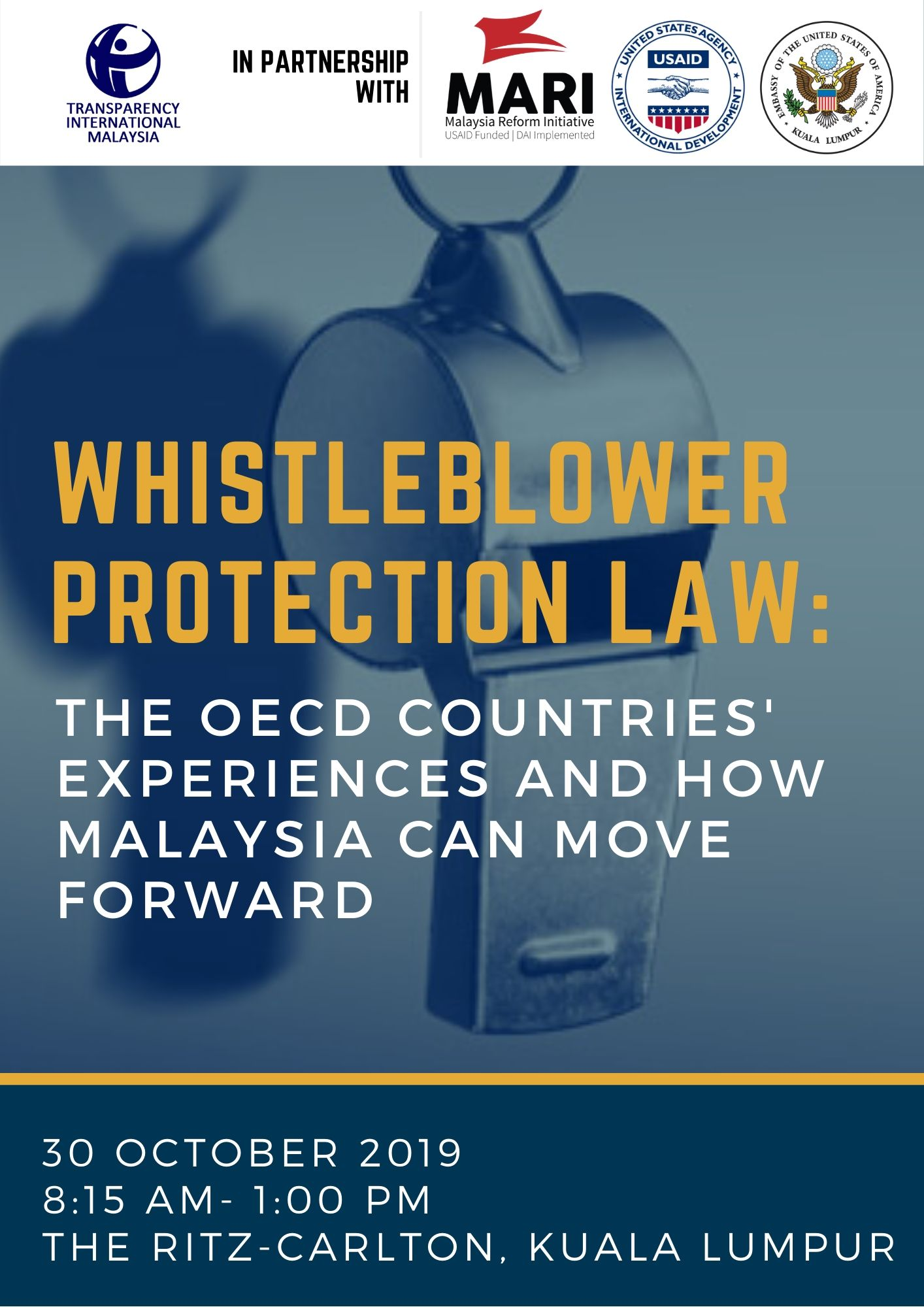 Whistleblower Protection Law: The OECD Countries Experiences and How Malaysia Can Move Forward