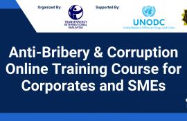 Anti - Bribery & Corruption Online Training Course for Corporates & Small and Medium Enterprises (SMEs)