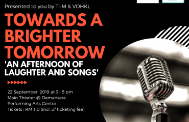 'Towards A Brighter Tomorrow' Concert