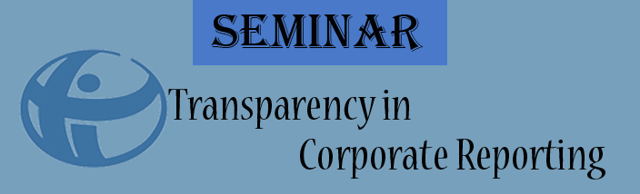 Seminar on Transparency in Corporate Reporting (TRAC) 2013
