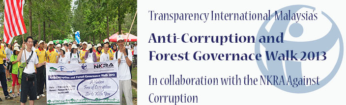 TI-M's Anti-Corruption and Forest Governance Walk 2013