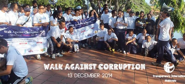 Walk Against Corruption 2014