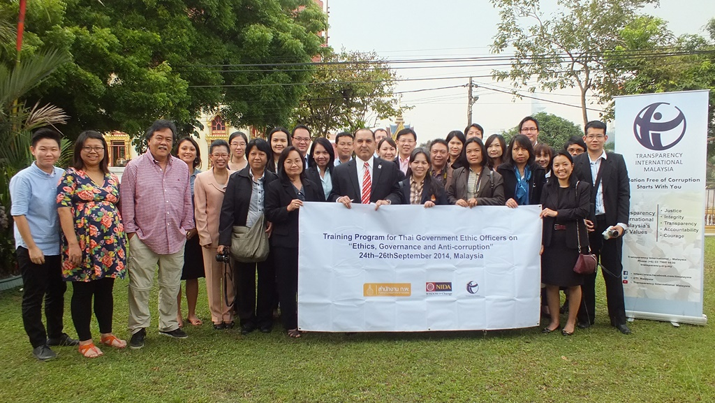 Thai Ethics Officers' Visit to Malaysia