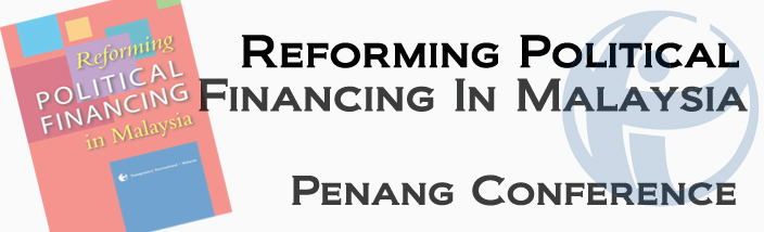 Reforming Political Financing in Malaysia: Northern Region Workshop (Penang)