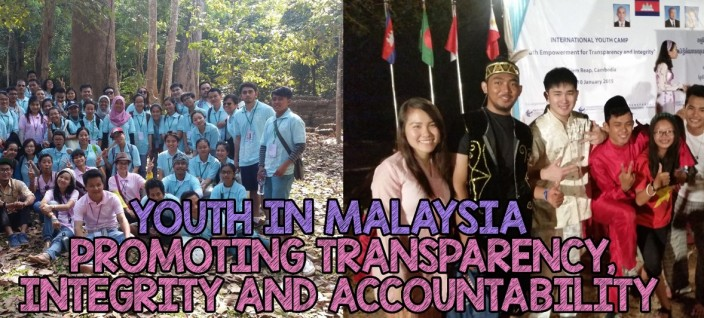Introducing TI-M's Youth Representatives who participated in the TI International Youth Camp on Transparency and Integrity