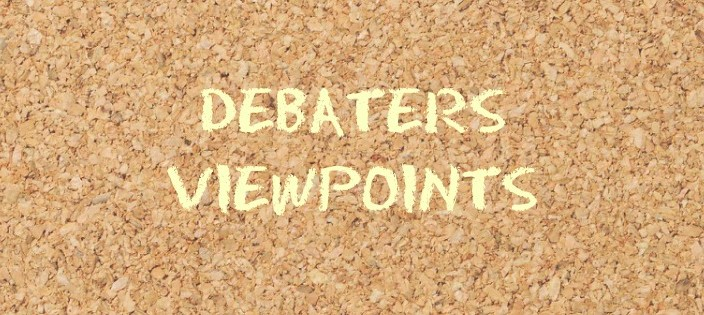 Debaters Viewpoints on Corruption