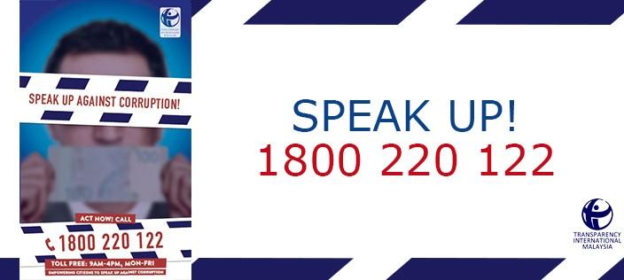 Speak Up Against Corruption Campaign