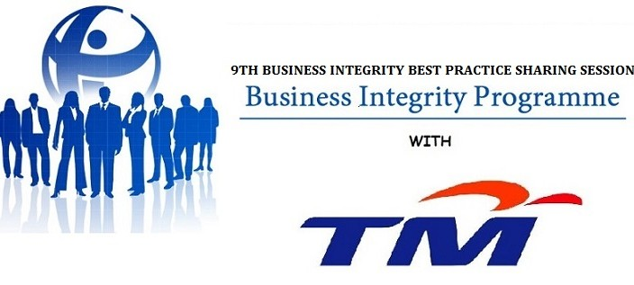 THE 9TH BUSINESS INTEGRITY BEST PRACTICE SHARING SESSION – HOSTED BY TELEKOM MALAYSIA