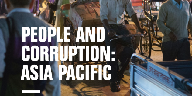Global Corruption Barometer – Asia Pacific 2017