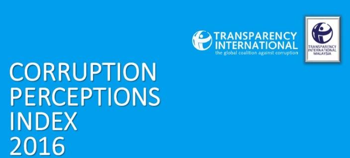 Corruption Perceptions Index 2016